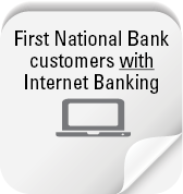 FNB Customers with Internet Banking