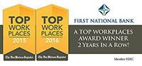 Top Workplace recipient image for 2016