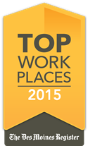 Top Workplace 2015 Logo