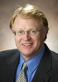 Randy Huewe, president of First National Bank